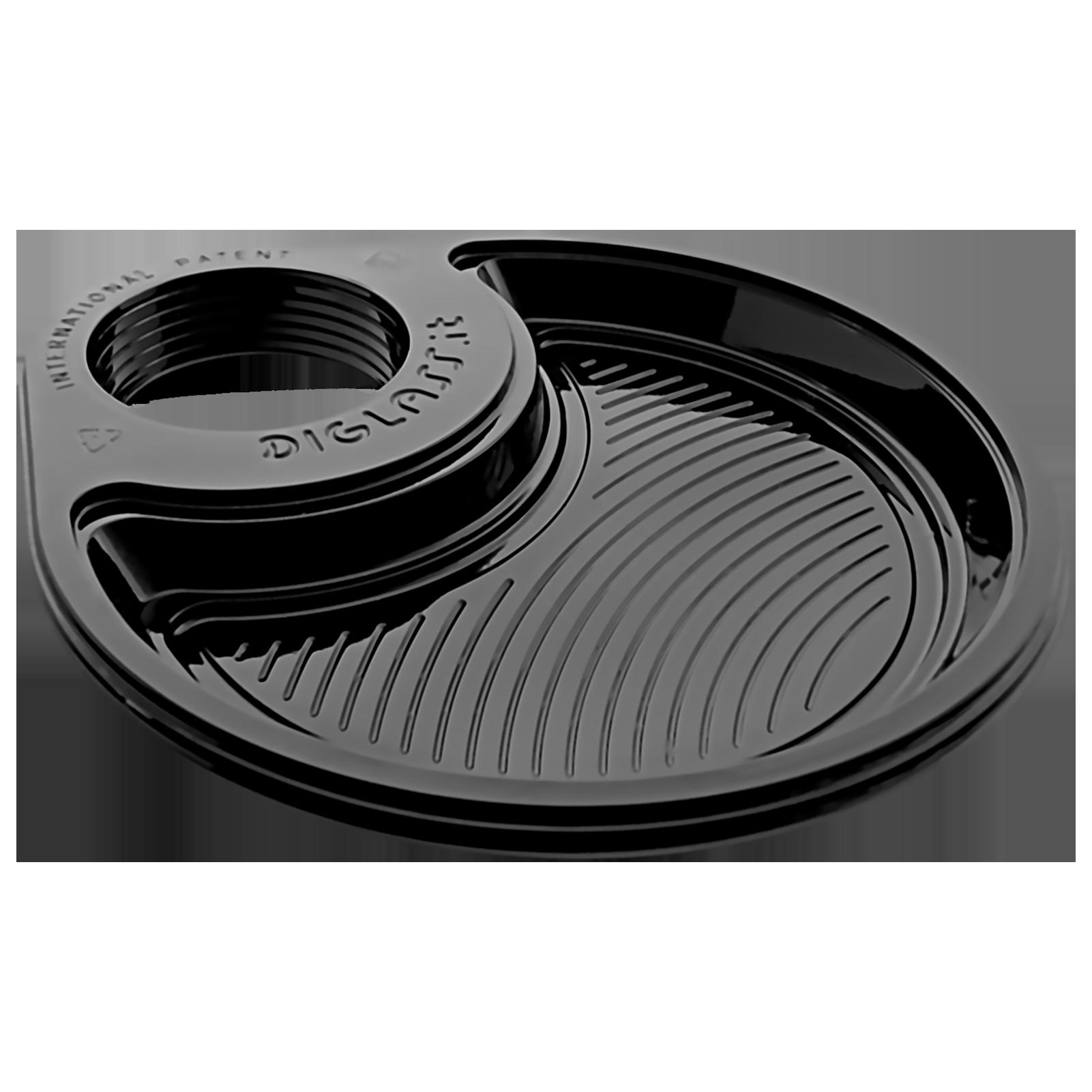 Profilo - 30 piatti, linea Deluxe Monoscomparto Neri (70-MONO-N)