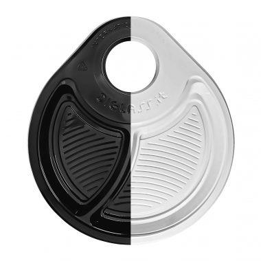 Due colori, Bianco o Nero, ideale per tutte le occasioni da una festa fra amici ad un buffet riservato, ad un aperitivo in compagnia.